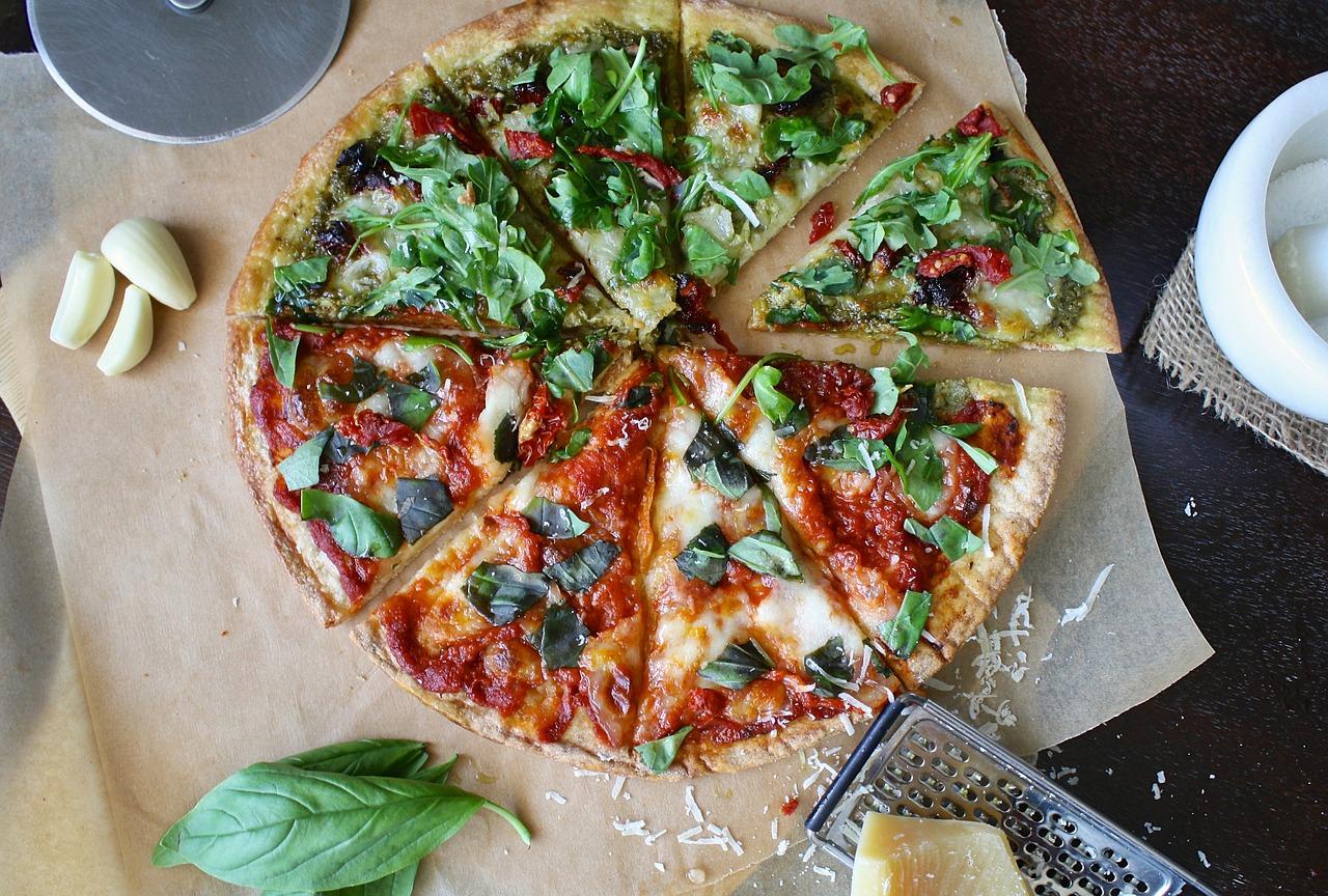 pizza met gehakt