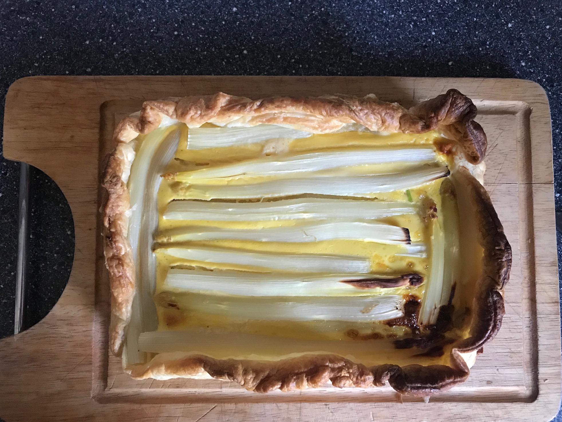 asperge-taart