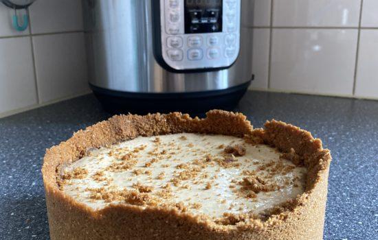 Pumpkin pie spice cheesecake