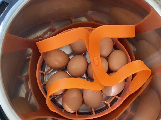 eieren uit de instant pot